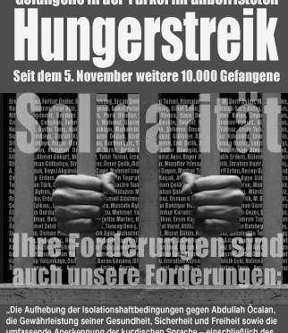 Infodossier: 10 000 Gefangene im Hungerstreik