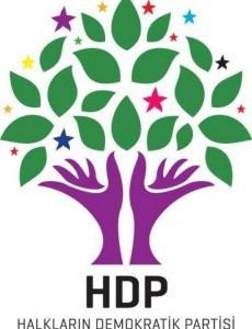 Logo der HDP