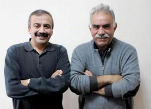 Sırrı Süreye Önder und Abdullah Öcalan