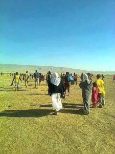 Yazidis-flee