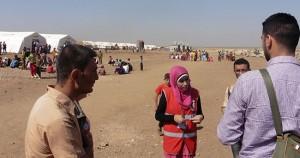 Fotos_Flüchtlingscamp_Rojava_Newroz