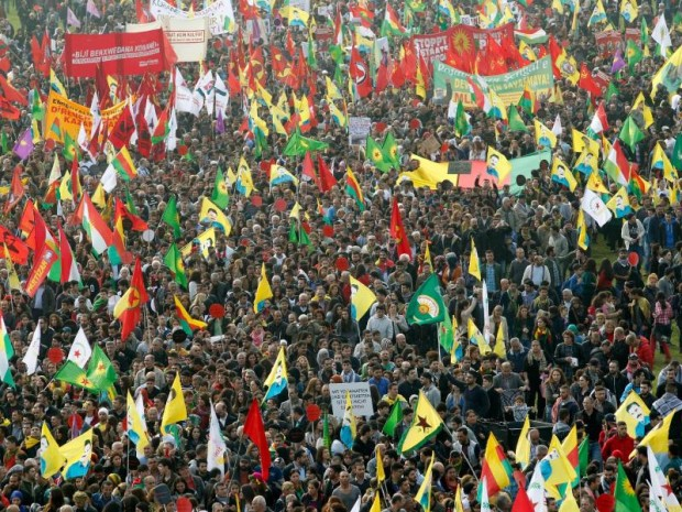 Kurden-Demo