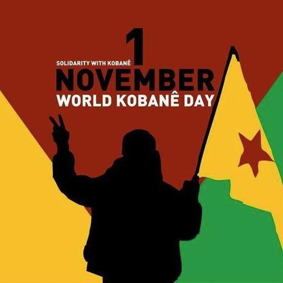 Aufruf zum Internationalen Kobanê-Solidaritätstag am 1. November 2017