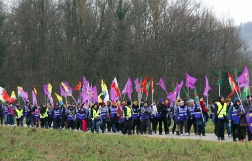 Langer Marsch in zehn unterschiedlichen deutschen Städten: Freiheit für Öcalan – Ein Status für Kurdistan