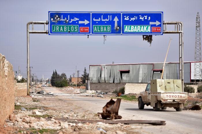 Türkische Intrigen und die Phase nach al-Bab