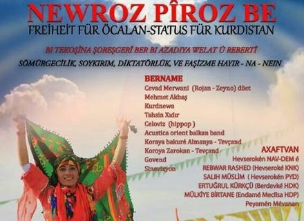 Newroz 2017: Nein zur Diktatur – Ja zu Demokratie und Freiheit