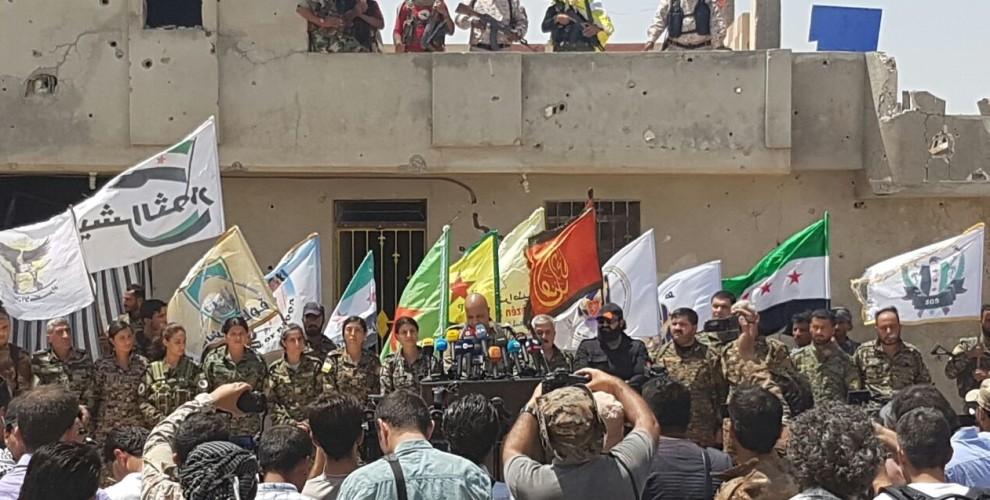 PM: Demokratischen Kräfte Syriens verkünden Beginn der letzten Offensive auf Raqqa