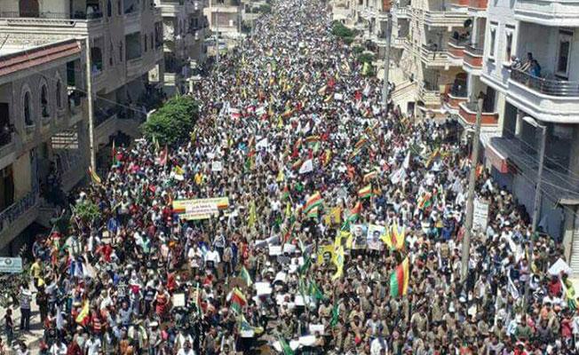Schluss mit den Angriffen auf Afrin!