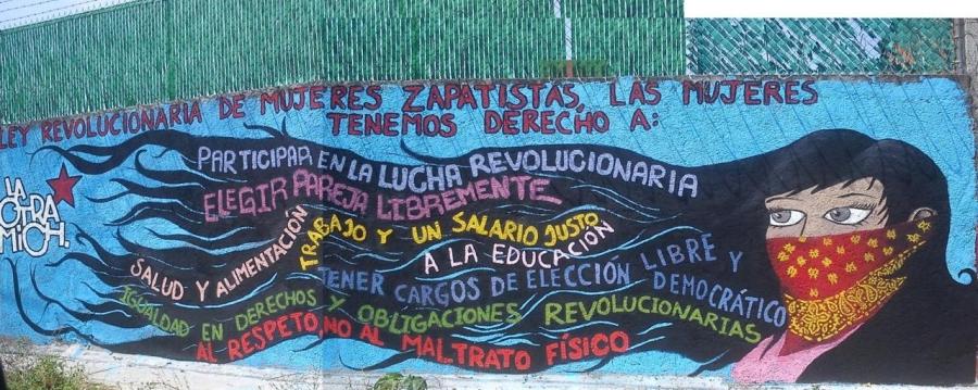 Botschaft aus Chiapas an die Frauenbewegung Kurdistans