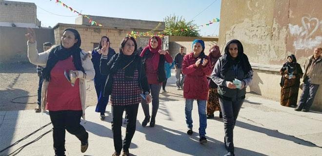 Geordneter Verlauf der zweiten Wahlphase in der Demokratischen Föderation Nordsyrien