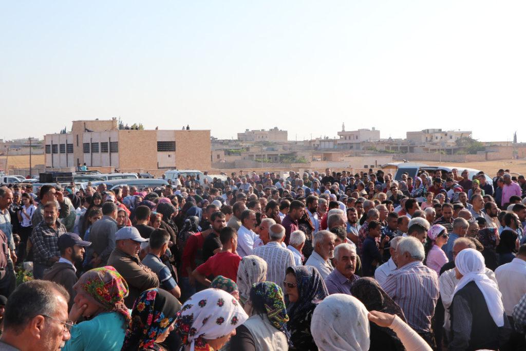 Das System der demokratischen Autonomie von Afrin lebt in den ...