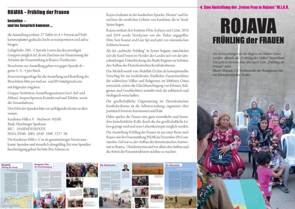 """Fotoausstellung: """"Rojava – Frühling der Frauen"""""""