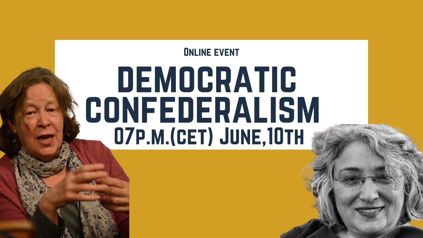 Onlineveranstaltung: Demokratischer Konföderalismus – Aufbau und Widerstand!