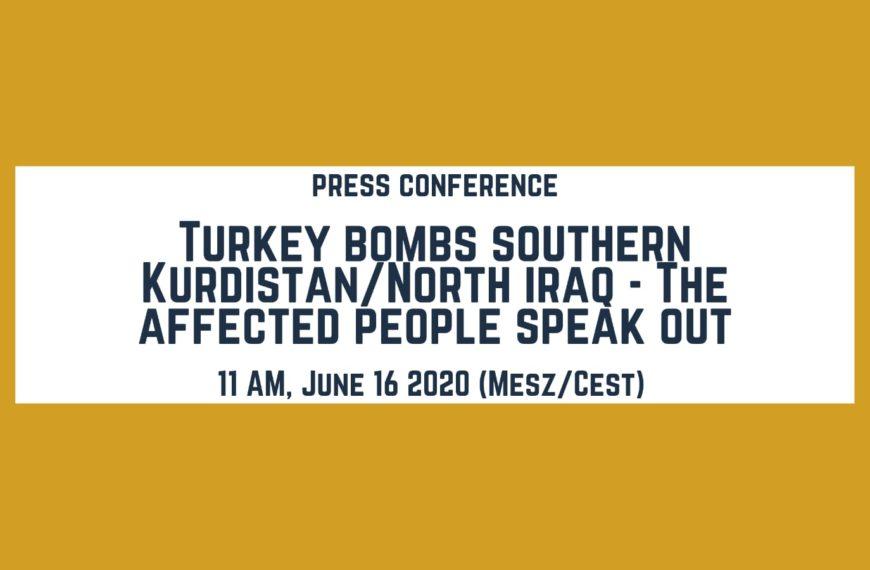 Türkei bombardiert Südkurdistan/Nordirak – Die Betroffenen melden sich zu Wort (Video)