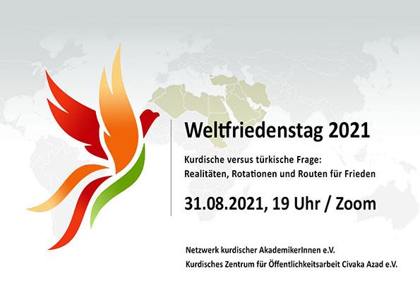 Onlineveranstaltung: Weltfriedenstag 2021